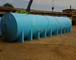 Накопительная бочка 75 м3 для питьевой воды